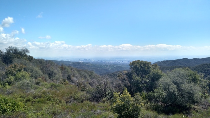 Temescal Ridge Fire Road, Topanga, CA