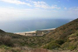 Ocean view from the top of the Chumash Trail, Point Mugu State Park