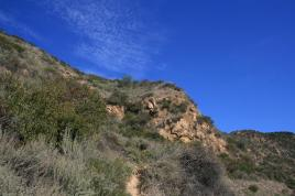 The steep approach to Burbank Peak