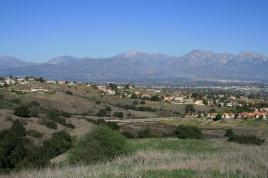 Mt. Baldy from the La Sierra Loop Trail