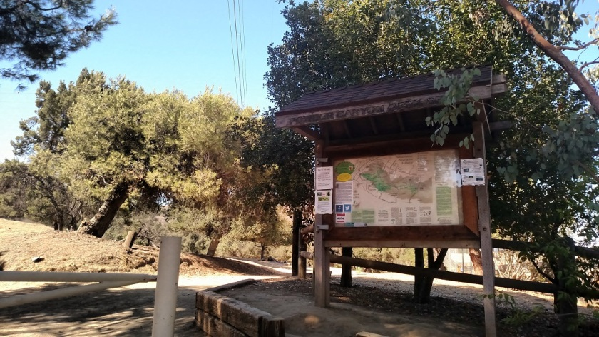 Powder Canyon Trail Head, La Habra Heights, CA