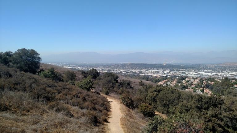Switchbacks Trail, Puente Hills, CA