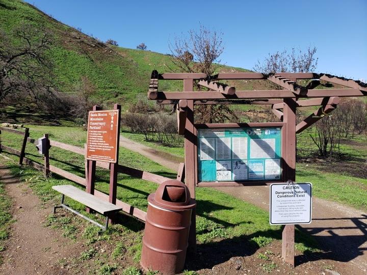 Las Virgenes Open Space Trail Head, Calabasas, CA