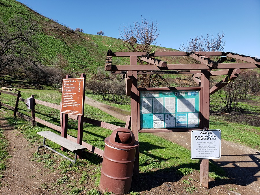 Las Virgenes Open Space Trail Head, Calabasas, CA
