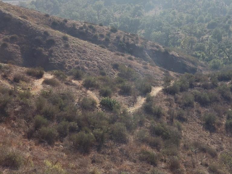 Markel Spur Trail, Limestone Canyon Regional Park