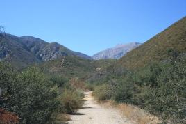 Looking west toward the mountains on the Chaparral Neighborhood Trail