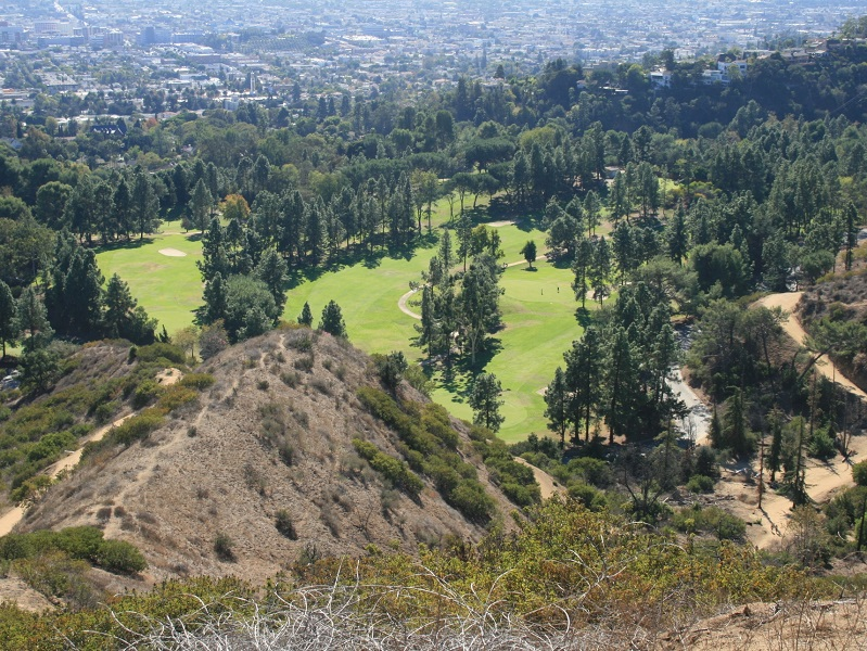 Roosevelt Golf Course, Glendale Peak, Griffith Park, CA