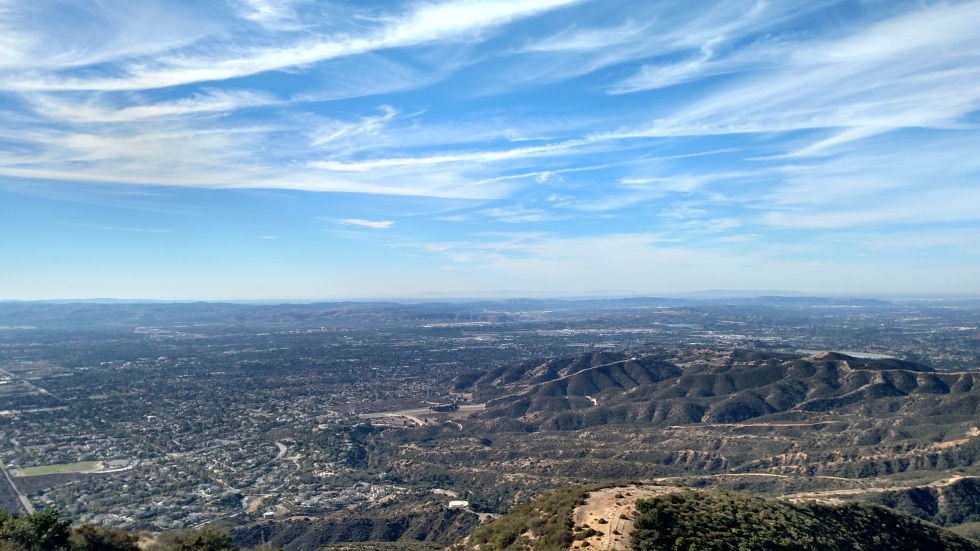 View from Potato Mountain, Claremont, CA