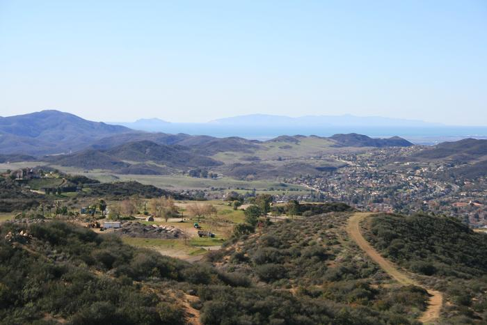 Anacapa and Santa Cruz Islands from Angel Vista