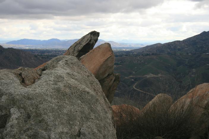 Geology near the Blue Mountain summit