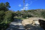 Trailhead at Harter Lane (click on thumbnails to see the full sized pictures)