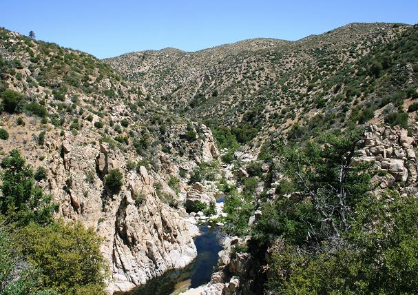 Deep Creek from the Pacific Crest Trail