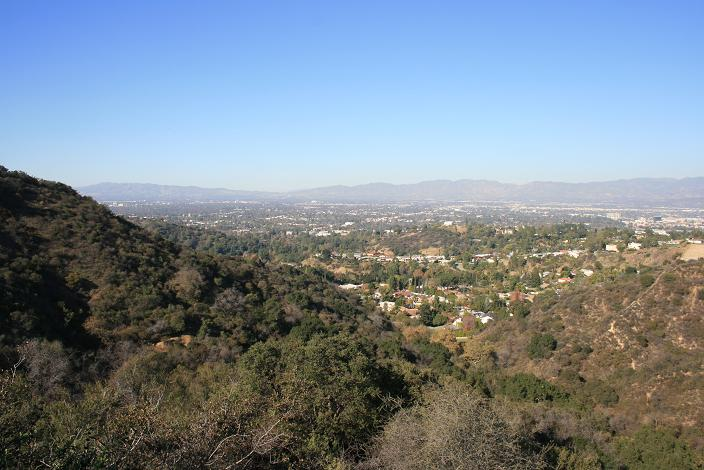 View of the Valley from the Nancy Pohl Overlook