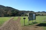 Trailhead at Rancho Satwiwa, on Potrero Road (click thumbnails to see the full-sized versions)