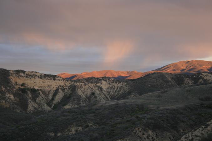Dusk on the Nadeau Trail, Golden Valley Ranch