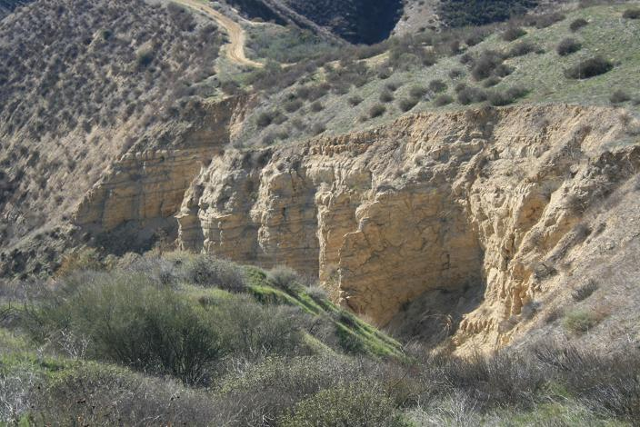 Geology in Haskell Canyon Open Space