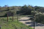 Beginning of the trail at Rancho Satwiwa