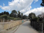 0:00 - The trail at Towne Avenue's north end (click thumbnails to see the full sized version)
