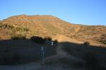 Monserate Mountain trail head (click thumbnails to see the full sized pictures)