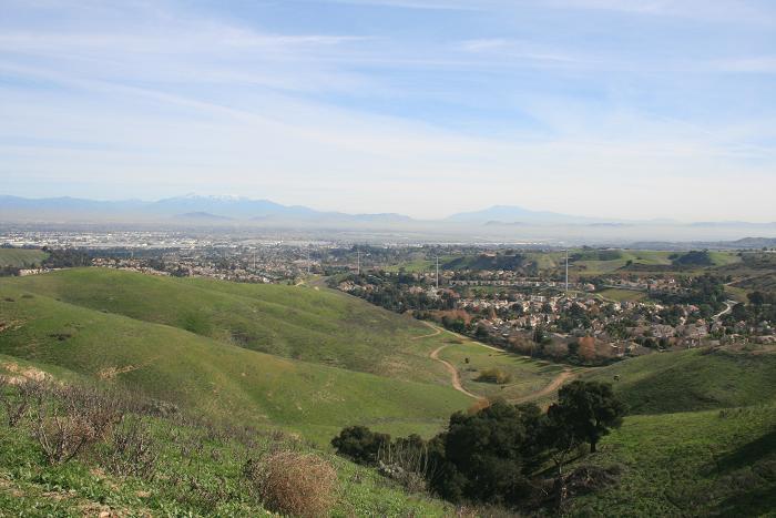San Gorgonio and San Jacinto from the Ridgeview Loop
