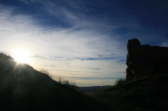 Dusk on the Secret Trail