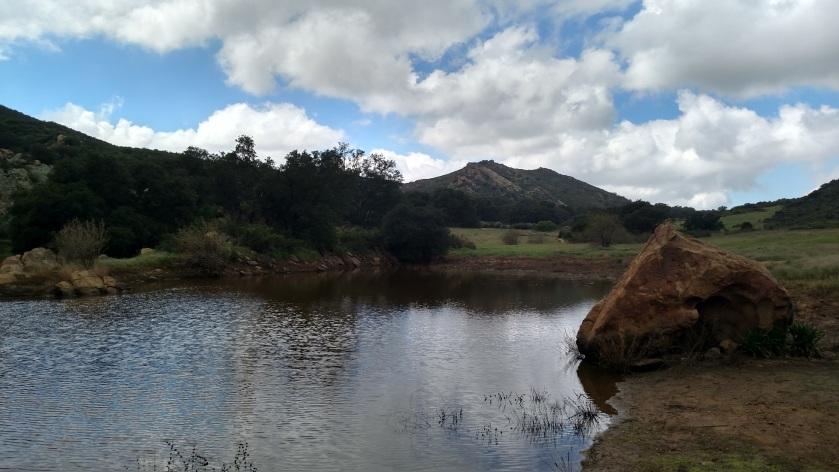Pond at China Flat, Simi Hills, CA