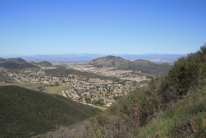 View from just below the Hidden Valley Overlook, Rancho Satwiwa