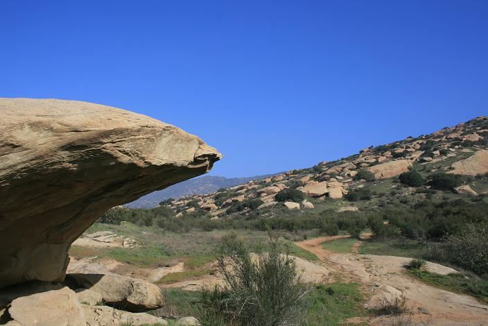 Geology on the Hummingbird Trail, Simi Valley