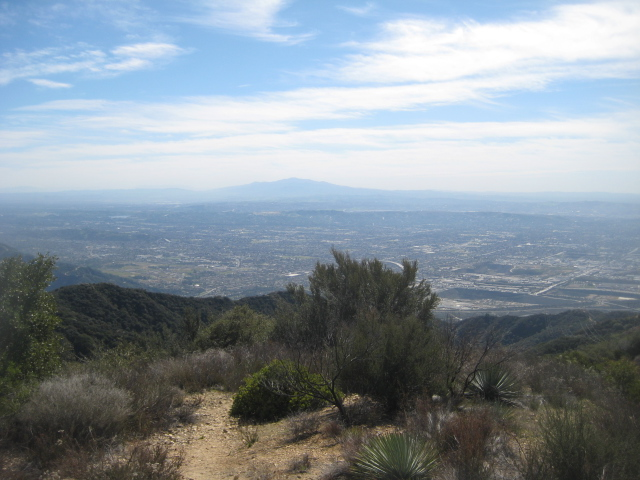 Southeast view from Mt. Bliss (including Old Saddleback)
