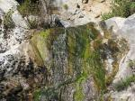 0:30 - Close up of Ribbon Rock Falls, lower of the two tiers