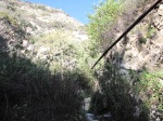 0:22 - Crossing the Rubio Canyon stream bed