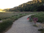 0:00 - Beginning of the hike at the Cedar Trail Head (click thumbnails to see the full sized versions)