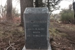 1:00 - Grave marker on the Silver Crest Trail