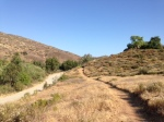 0:43 - Heading down toward Sycamore Creek Road