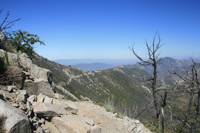 Looking west from the Mt. Lowe Trail
