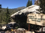 0:00 - Entrance to Mt. San Jacinto State Park (click thumbnails to see the full sized version)