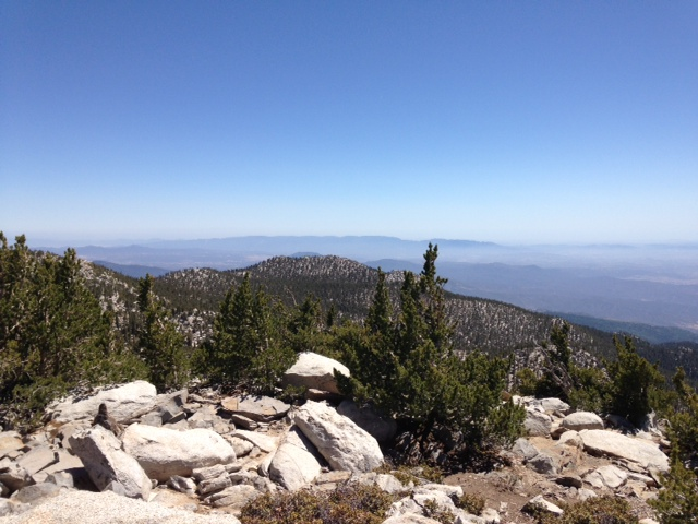 Southwestern view from San Jacinto Peak
