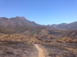 0:55 - Looking back at Boney Mountain from the Serrano Valley Trail, turnaround point for this hike