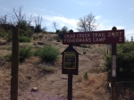 0:00 - Crab Creek trail head (click thumbnails to see the full sized version)