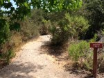 0:04 - Beginning of the hiking trail past the picnic area (times are approximate)