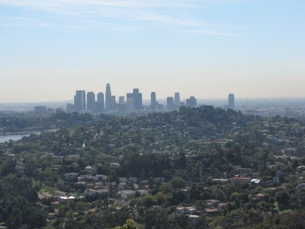 Downtown L.A. from Beacon Hill