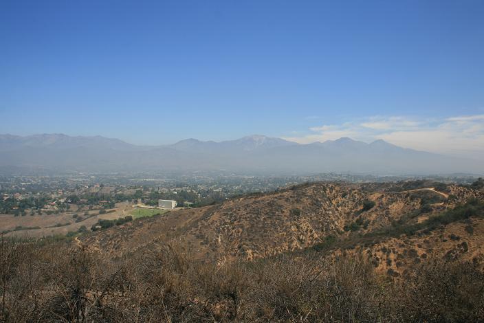 View of Mt. Baldy from Buzzard Peak