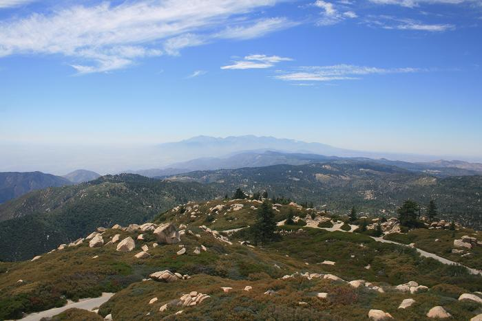 San Gabriels from the Keller Peak Lookout