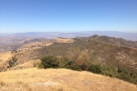 1:15 - Looking northwest from Oat Mountain's summit