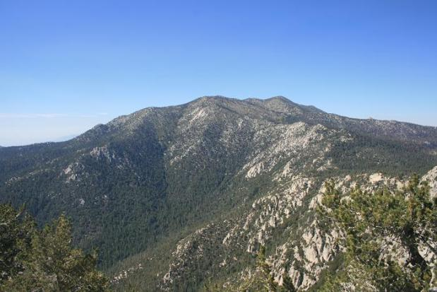 San Jacinto from Tahquitz Peak