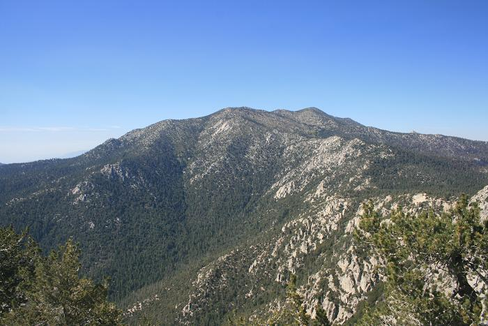San Jacinto from Tahquitz Peak