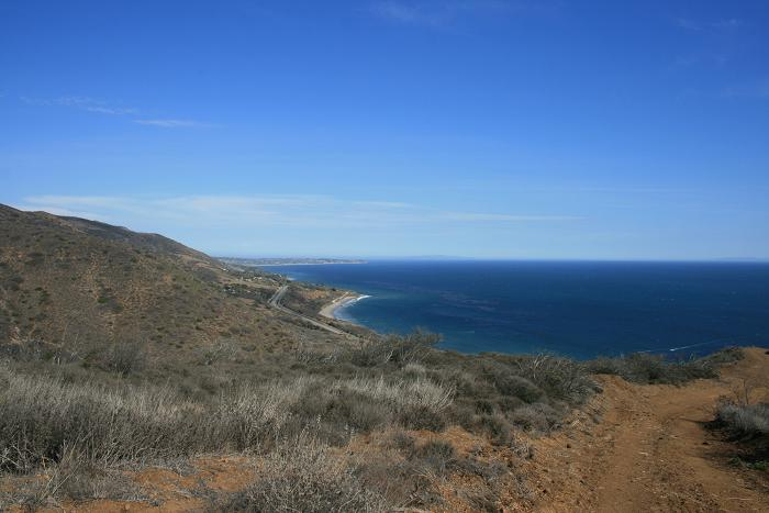 Ocean panorama from Yellow Hill Fire Road