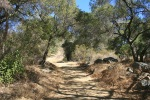 1:00 Turnaround point at Cozy Dell Canyon Road