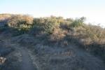 0:27 - The split: Head right and uphill toward Lizard Rock