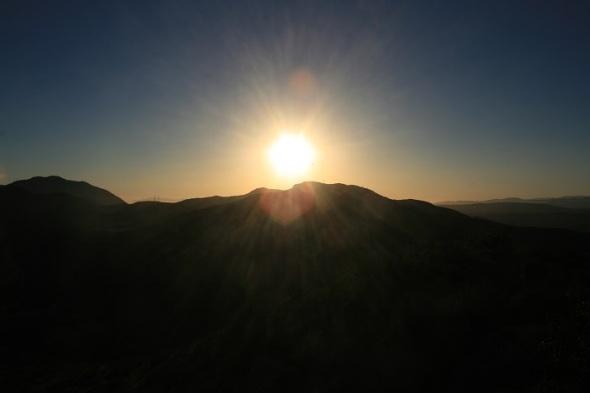 Sunset from Lizard Rock